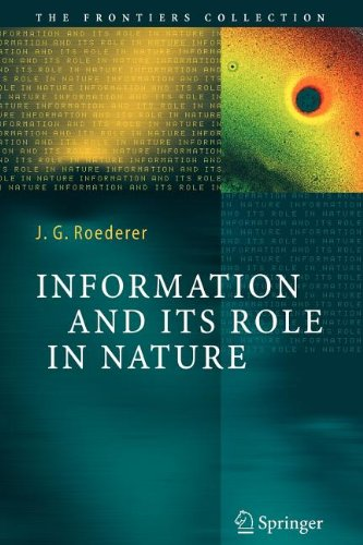 9783540803850: Information and Its Role in Nature