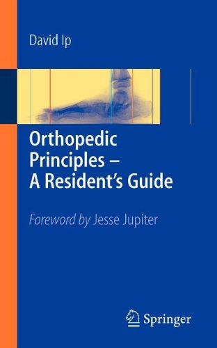 9783540804314: Orthopedic Principles - A Resident's Guide