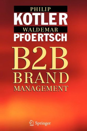 9783540809258: B2B Brand Management