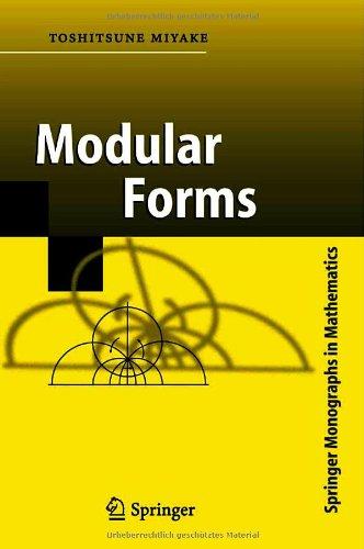 9783540817048: Modular Forms