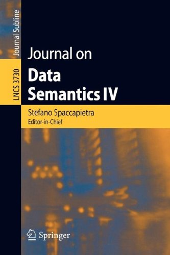 9783540819172: Journal on Data Semantics IV