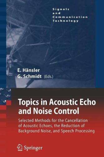 9783540822219: Topics in Acoustic Echo and Noise Control