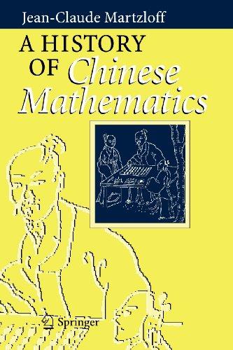9783540823193: A History of Chinese Mathematics