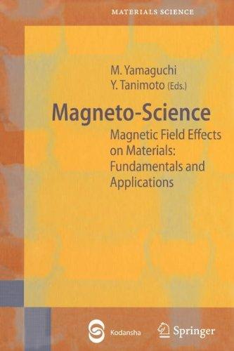 9783540827450: Magneto-Science