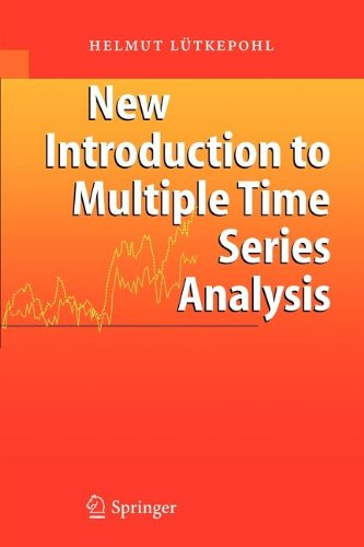 9783540829027: New Introduction to Multiple Time Series Analysis