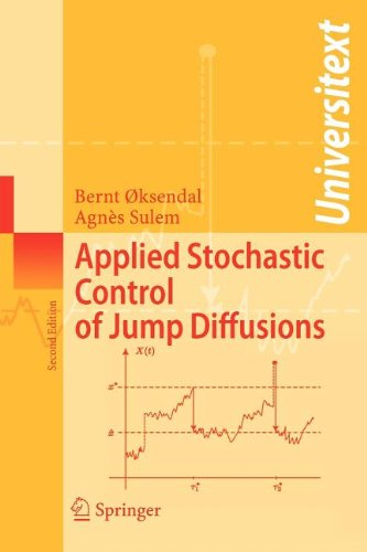 9783540834861: Applied Stochastic Control of Jump Diffusions