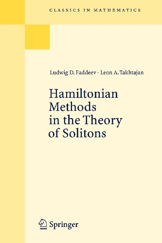 9783540834922: Hamiltonian Methods in the Theory of Solitons