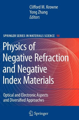 9783540837695: Physics of Negative Refraction and Negative Index Materials