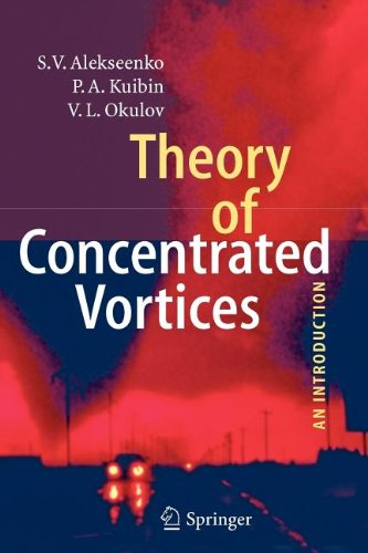 9783540840268: Theory of Concentrated Vortices: An Introduction