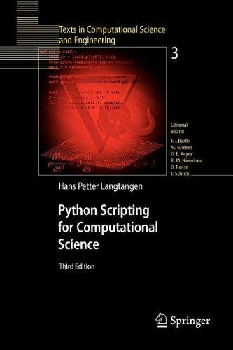 9783540841593: Python Scripting for Computational Science