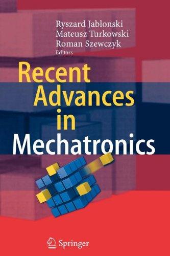 9783540841739: Recent Advances in Mechatronics