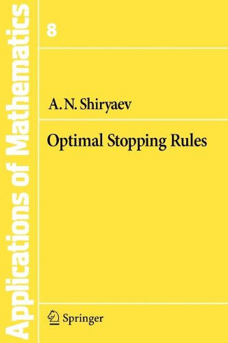 9783540841814: Optimal Stopping Rules