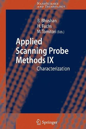 9783540841975: Applied Scanning Probe Methods IX