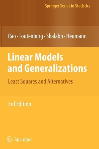 9783540842224: Linear Models and Generalizations