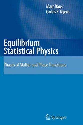 9783540843245: Equilibrium Statistical Physics
