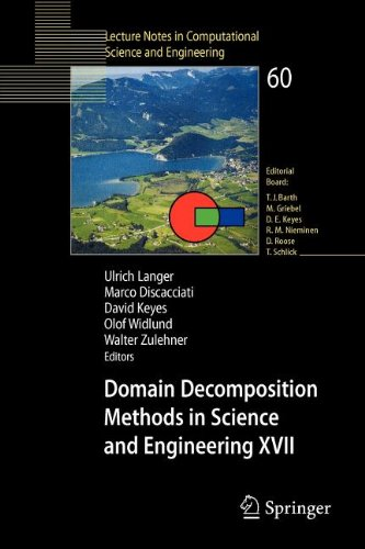 9783540844228: Domain Decomposition Methods in Science and Engineering XVII