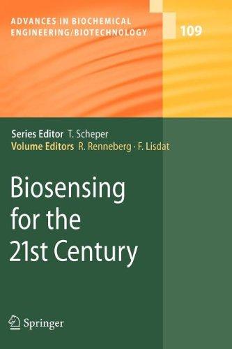 9783540844235: Biosensing for the 21st Century