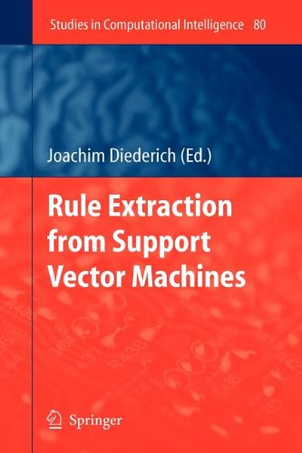 9783540844518: Rule Extraction from Support Vector Machines