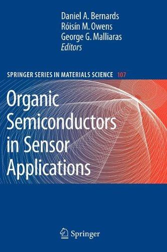 9783540845539: Organic Semiconductors in Sensor Applications