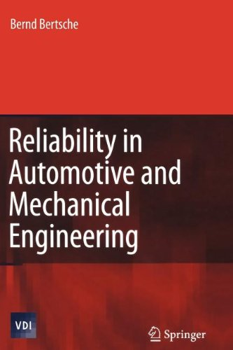 9783540847939: Reliability in Automotive and Mechanical Engineering