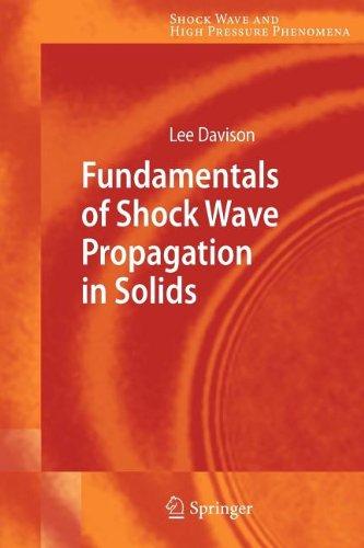 9783540848431: Fundamentals of Shock Wave Propagation in Solids