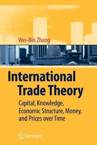 9783540849070: International Trade Theory