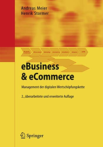 9783540850168: EBusiness & eCommerce: Management der digitalen Wertschöpfungskette (German Edition)