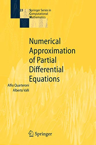 9783540852674: Numerical Approximation of Partial Differential Equations