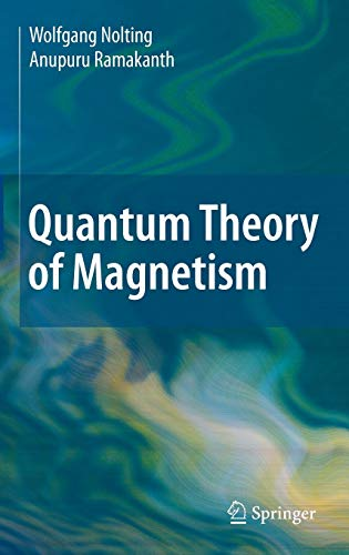 9783540854159: Quantum Theory of Magnetism