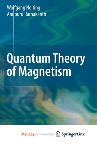 9783540854456: Quantum Theory of Magnetism