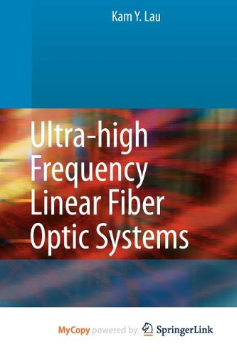 9783540860969: Ultra-high Frequency Linear Fiber Optic Systems