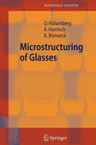 9783540861119: Microstructuring of Glasses