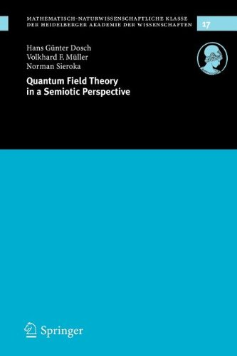 9783540861256: Quantum Field Theory in a Semiotic Perspective