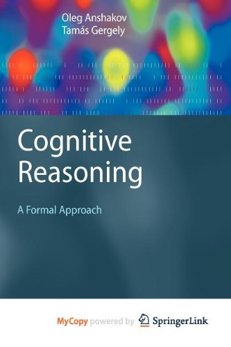 9783540862673: Cognitive Reasoning