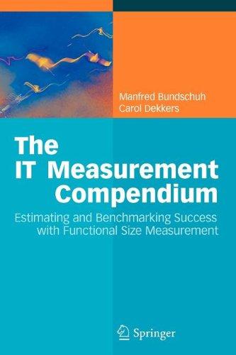 9783540863892: The It Measurement Compendium