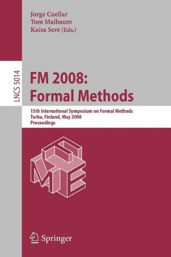 9783540863939: FM 2008: Formal Methods