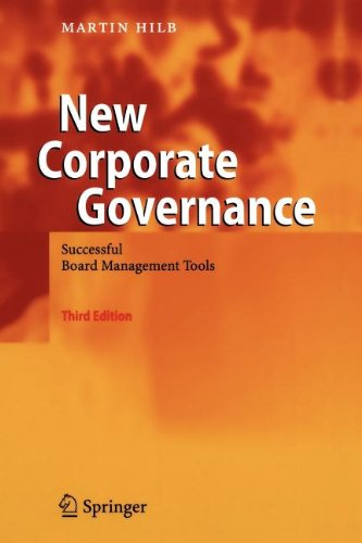 9783540864424: New Corporate Governance