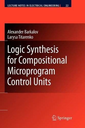 9783540865186: Logic Synthesis for Compositional Microprogram Control Units