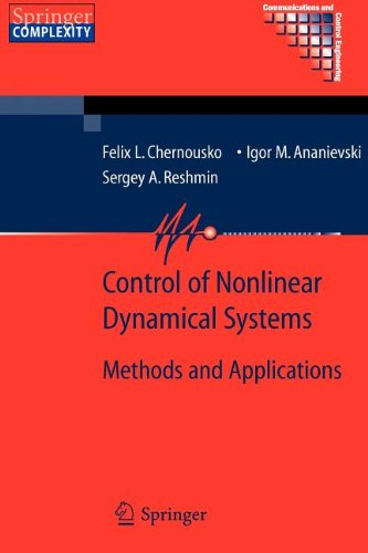 9783540866954: Control of Nonlinear Dynamical Systems