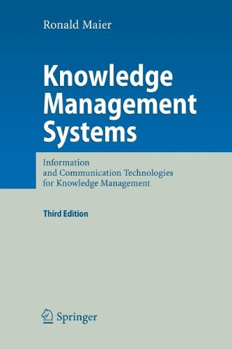 9783540867616: Knowledge Management Systems: Information and Communication Technologies for Knowledge Management