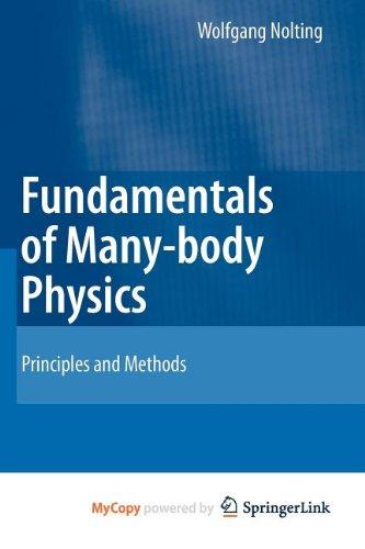 9783540867739: Fundamentals of Many-Body Physics