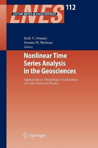 9783540871606: Nonlinear Time Series Analysis in the Geosciences