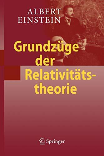 9783540878469: Grundzüge der Relativitätstheorie (German Edition)