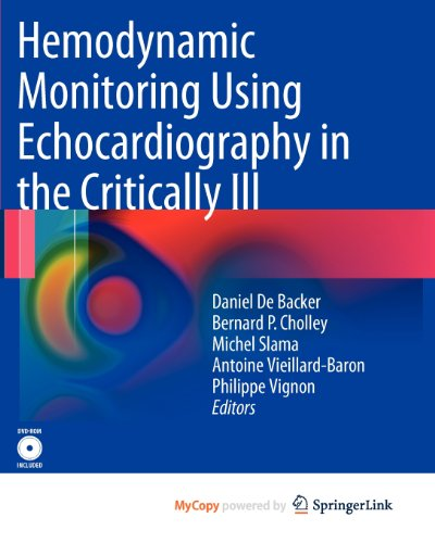 9783540879589: Hemodynamic Monitoring Using Echocardiography in the Critically Ill