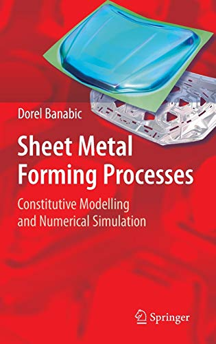 Sheet Metal Forming Processes: Dorel Banabic
