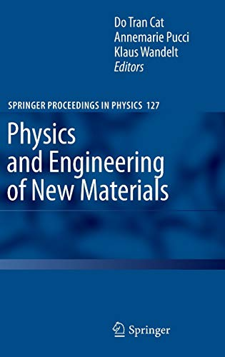 Physics and Engineering of New Materials (Springer Proceedings in Physics): Springer