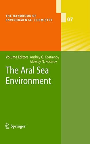 9783540882763: The Aral Sea Environment (The Handbook of Environmental Chemistry)