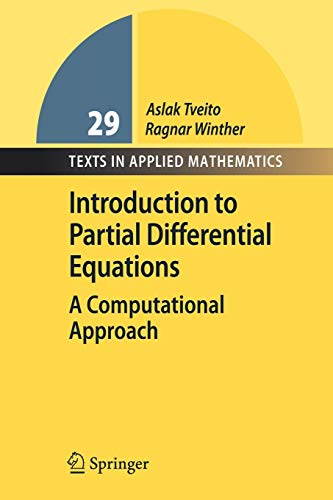 9783540887041: Introduction to Partial Differential Equations: A Computational Approach