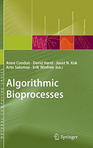 Algorithmic Bioprocesses: Anne Condon