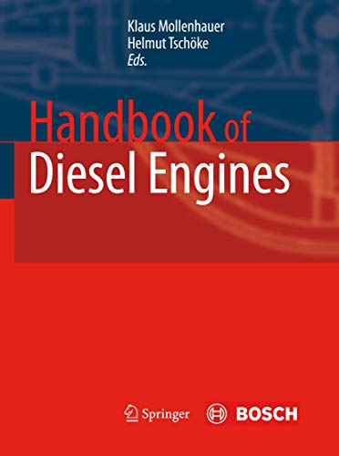 9783540890829: Handbook of Diesel Engines (Vdi-Buch)